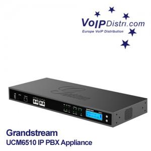 Grandstream UCM6510 Enterprise IP PBX: Lizenzfreie IP-Telefonanlage mit 1x PRI E1/T1 Schnittstelle, hoher Verfügbarkeit und Leistung für bis zu 2000 Teilnehmer und bis zu 200 gleichzeitigen Gespräche