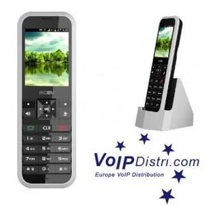 INCOM ICW-1000G SIP-Telefon mit Wireless LAN im IEEE 802.11n Standard bis zu 600 Mbit/s