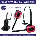 VoIPDistri.com CeBIT VoIP News: Premium JPL X-400 schnurloses DECT-Headset