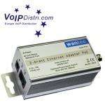 VoIPDistri.com verkauft  innovative Speziallösung: 2-Draht Netzwerkverbindung mit PoE