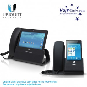 Ubiquiti UniFi VoIP UVP Enterprise VoIP Phone with Touchscreen (UVP-Executive/UVP-Pro)